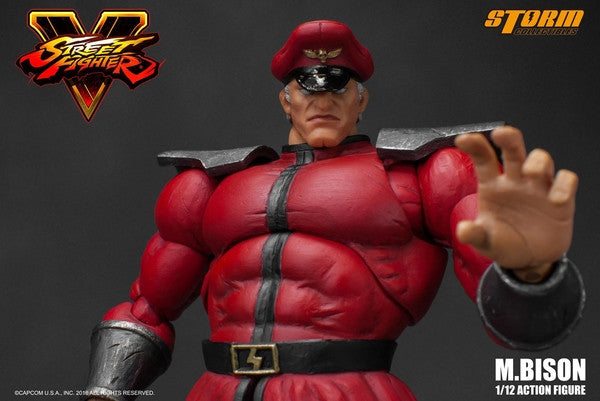 Storm Collectibles - 1:12 Scale Action Figure - Street Fighter V - M. Bison - Marvelous Toys - 6
