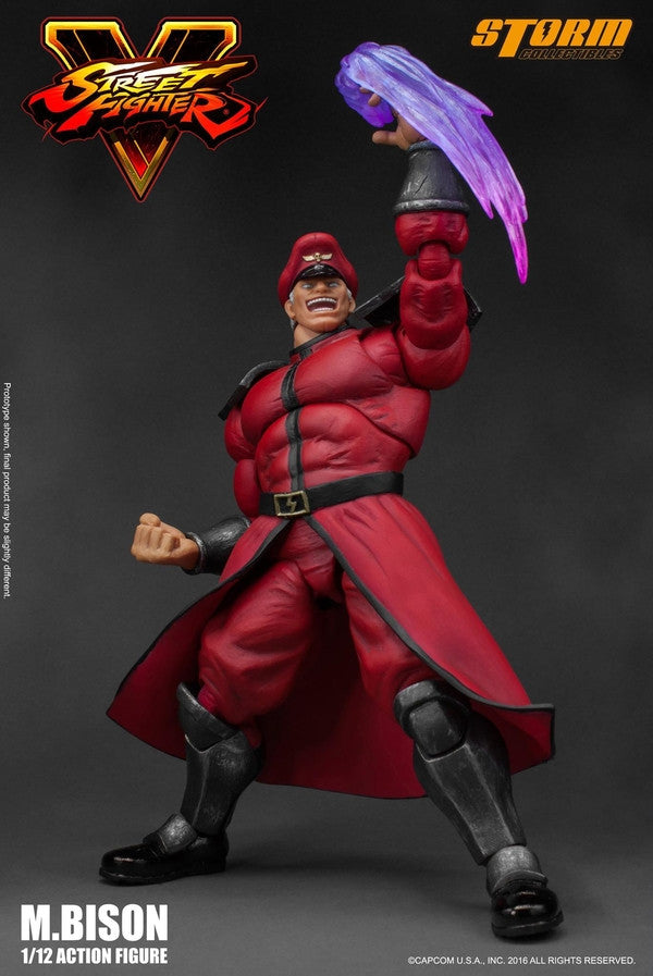 Storm Collectibles - 1:12 Scale Action Figure - Street Fighter V - M. Bison - Marvelous Toys - 9