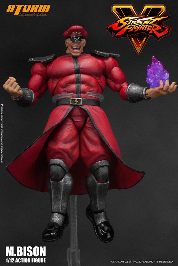 Storm Collectibles - 1:12 Scale Action Figure - Street Fighter V - M. Bison - Marvelous Toys - 10