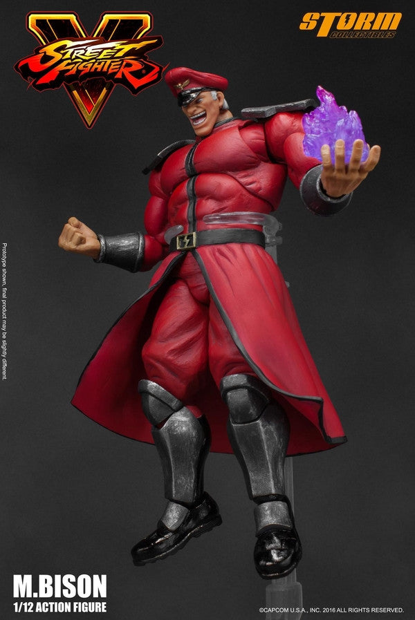 Storm Collectibles - 1:12 Scale Action Figure - Street Fighter V - M. Bison - Marvelous Toys - 11