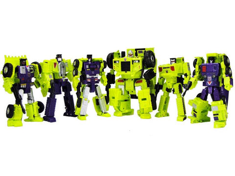 TakaraTomy - Transformers Unite Warriors - UW-04 - Devastator (Reissue)