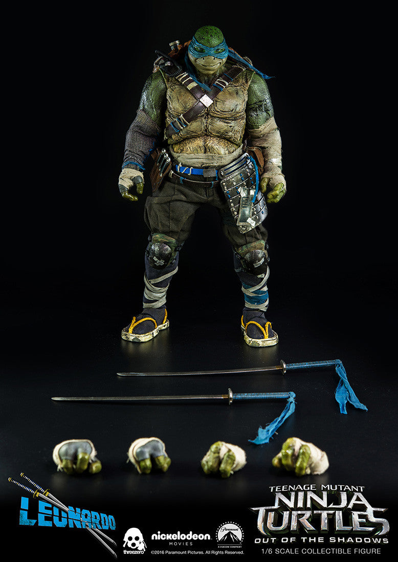 ThreeZero - Teenage Mutant Ninja Turtles: Out of the Shadows - Leonardo - Marvelous Toys - 16