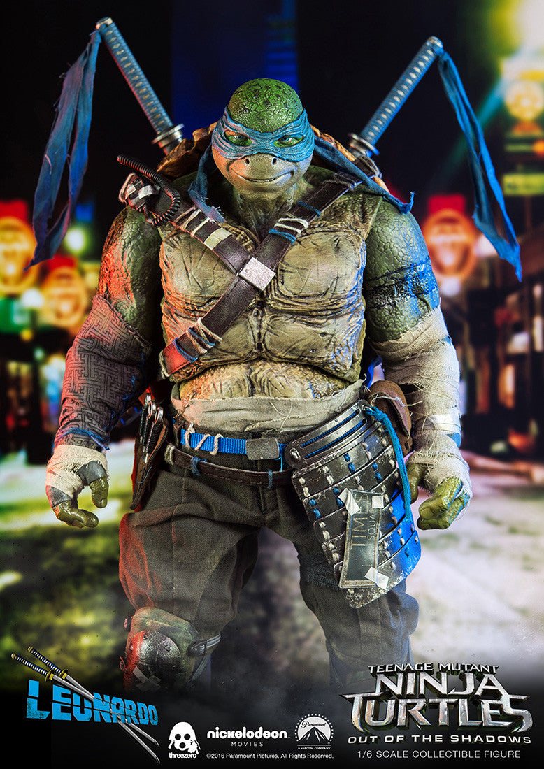 ThreeZero - Teenage Mutant Ninja Turtles: Out of the Shadows - Leonardo - Marvelous Toys - 2