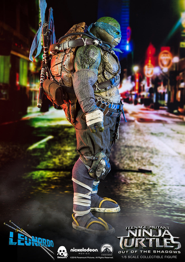 ThreeZero - Teenage Mutant Ninja Turtles: Out of the Shadows - Leonardo - Marvelous Toys - 4