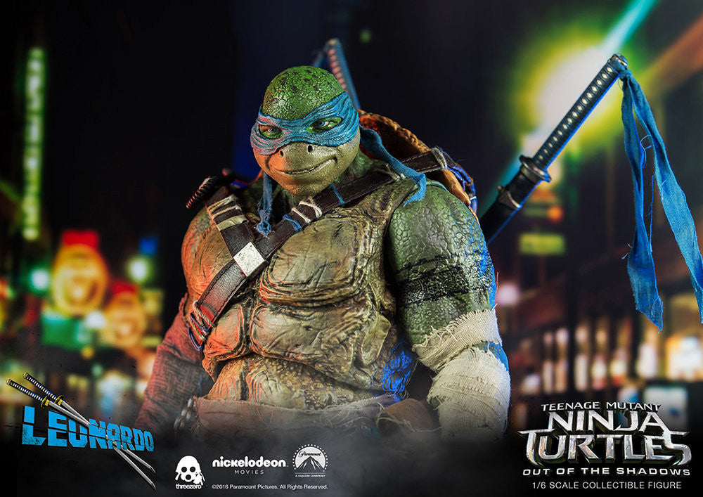 ThreeZero - Teenage Mutant Ninja Turtles: Out of the Shadows - Leonardo - Marvelous Toys - 5