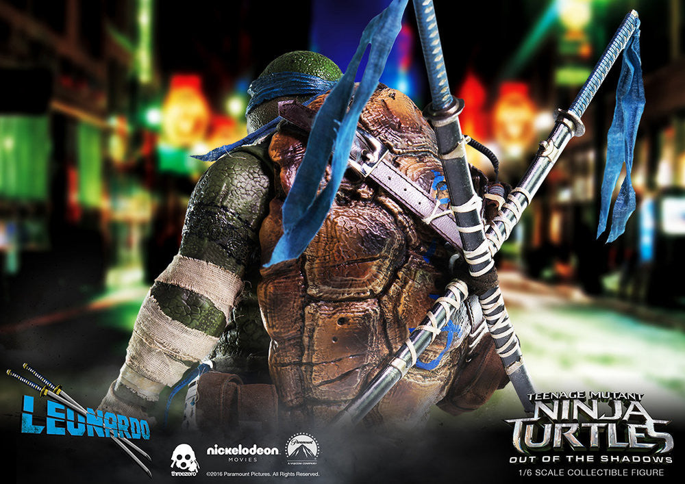 ThreeZero - Teenage Mutant Ninja Turtles: Out of the Shadows - Leonardo - Marvelous Toys - 6