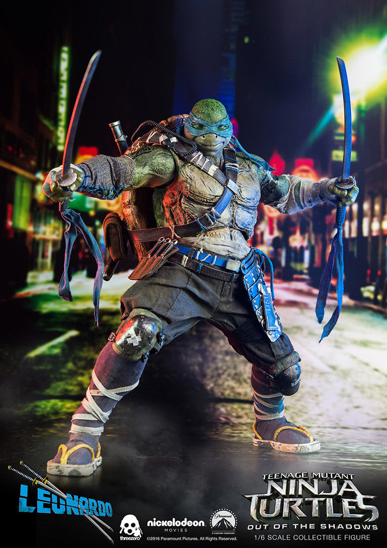 ThreeZero - Teenage Mutant Ninja Turtles: Out of the Shadows - Leonardo - Marvelous Toys - 1