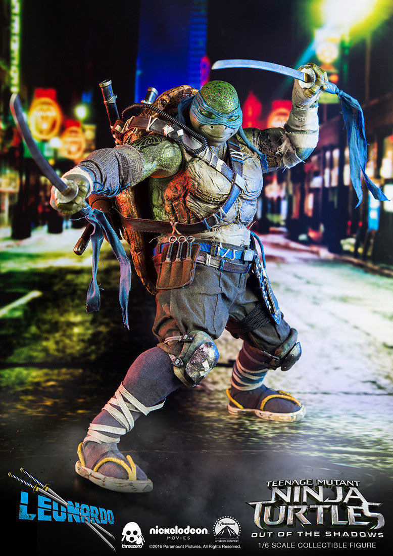 ThreeZero - Teenage Mutant Ninja Turtles: Out of the Shadows - Leonardo - Marvelous Toys - 7