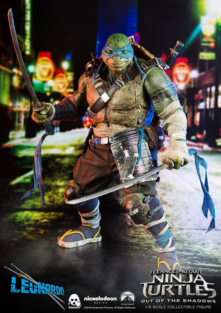 ThreeZero - Teenage Mutant Ninja Turtles: Out of the Shadows - Leonardo - Marvelous Toys - 8