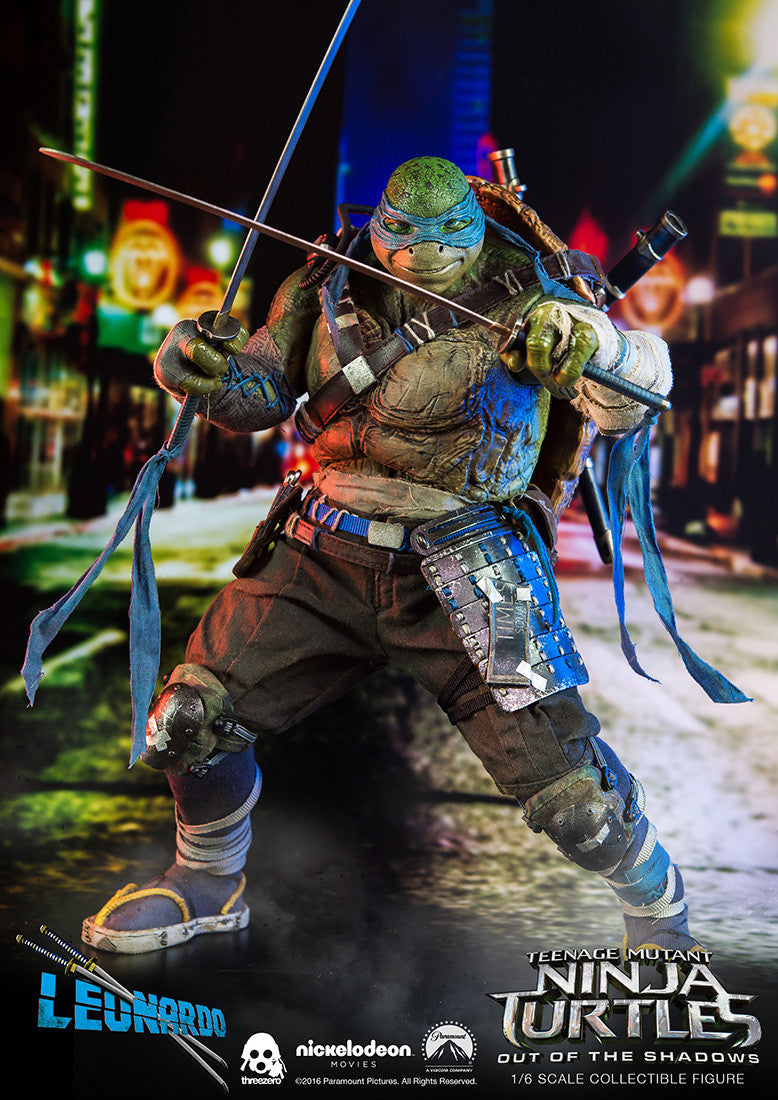 ThreeZero - Teenage Mutant Ninja Turtles: Out of the Shadows - Leonardo - Marvelous Toys - 9