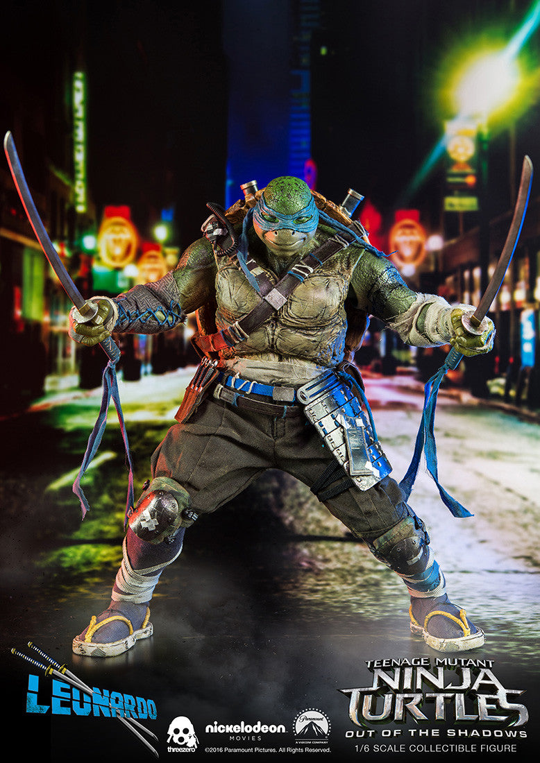ThreeZero - Teenage Mutant Ninja Turtles: Out of the Shadows - Leonardo - Marvelous Toys - 10
