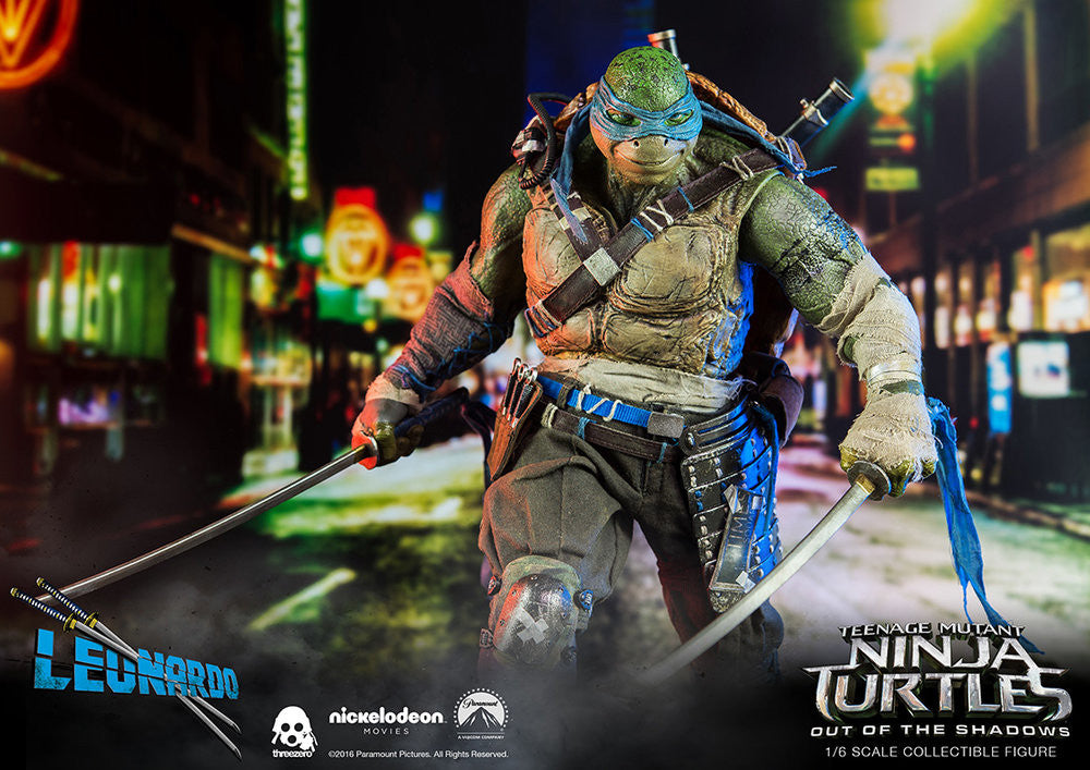 ThreeZero - Teenage Mutant Ninja Turtles: Out of the Shadows - Leonardo - Marvelous Toys - 11