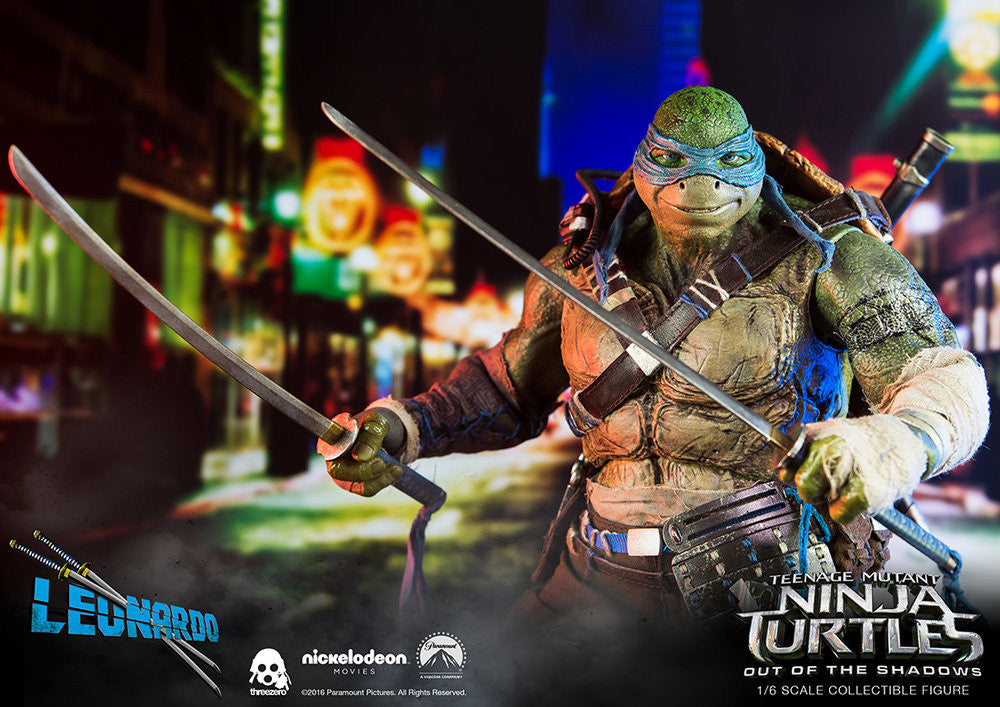 ThreeZero - Teenage Mutant Ninja Turtles: Out of the Shadows - Leonardo - Marvelous Toys - 12