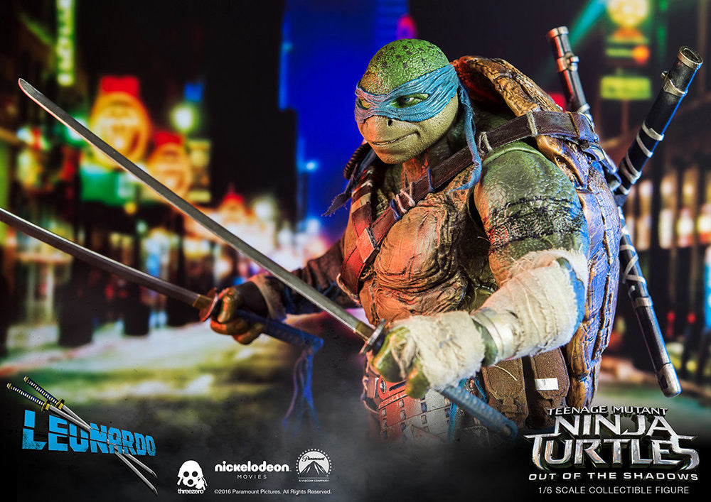ThreeZero - Teenage Mutant Ninja Turtles: Out of the Shadows - Leonardo - Marvelous Toys - 13