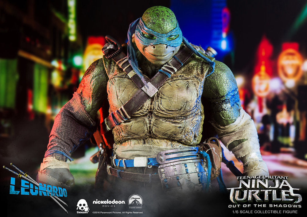 ThreeZero - Teenage Mutant Ninja Turtles: Out of the Shadows - Leonardo - Marvelous Toys - 14
