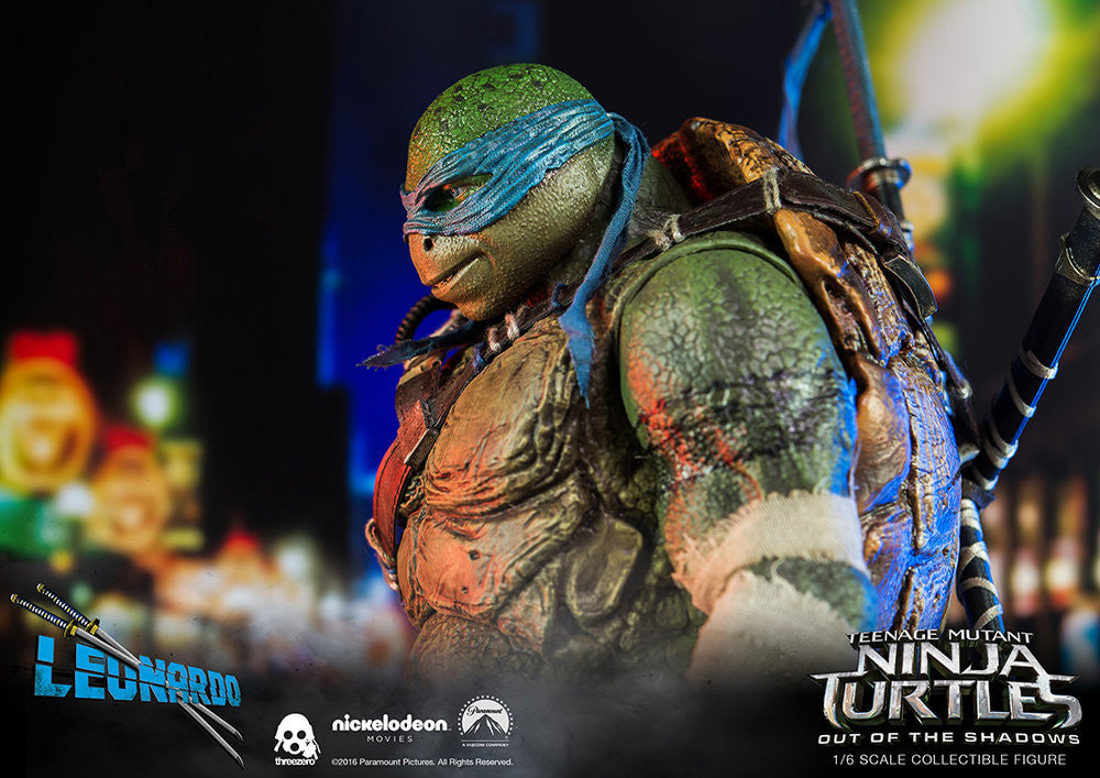 ThreeZero - Teenage Mutant Ninja Turtles: Out of the Shadows - Leonardo - Marvelous Toys - 15