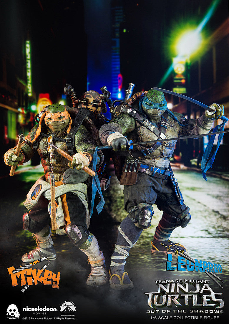 ThreeZero - Teenage Mutant Ninja Turtles: Out of the Shadows - Leonardo - Marvelous Toys - 17