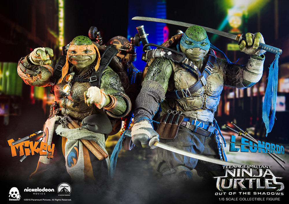 ThreeZero - Teenage Mutant Ninja Turtles: Out of the Shadows - Leonardo - Marvelous Toys - 18