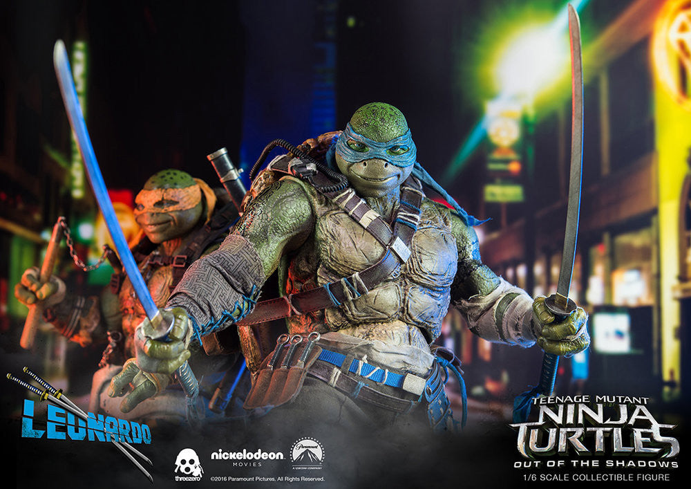ThreeZero - Teenage Mutant Ninja Turtles: Out of the Shadows - Leonardo - Marvelous Toys - 19