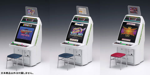Wave - 1/12 Scale Astro City Gaming Machine - Capcom Titles - Plastic Model Set