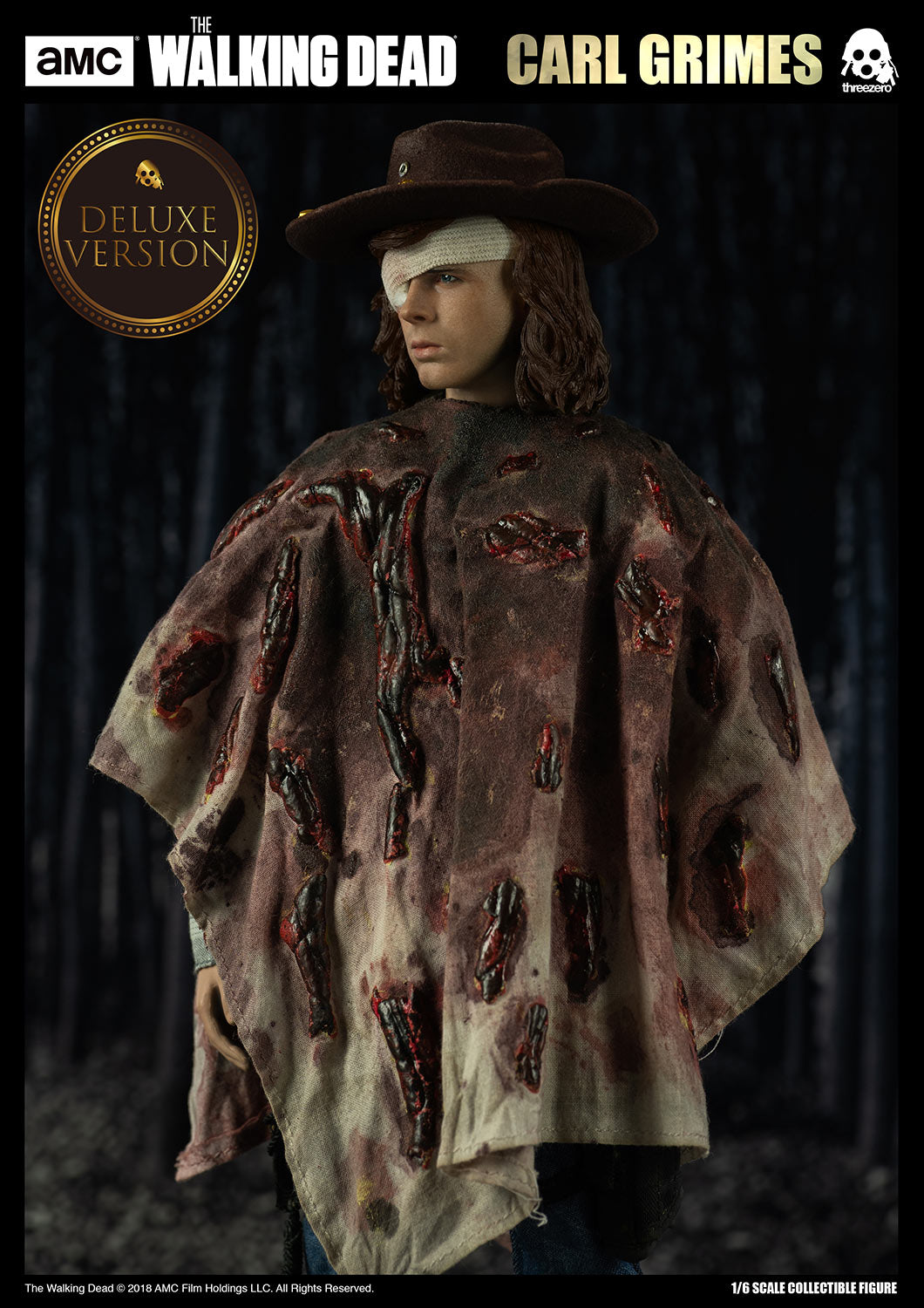 ThreeZero - The Walking Dead - Carl Grimes (1/6 Scale) (Deluxe Version)