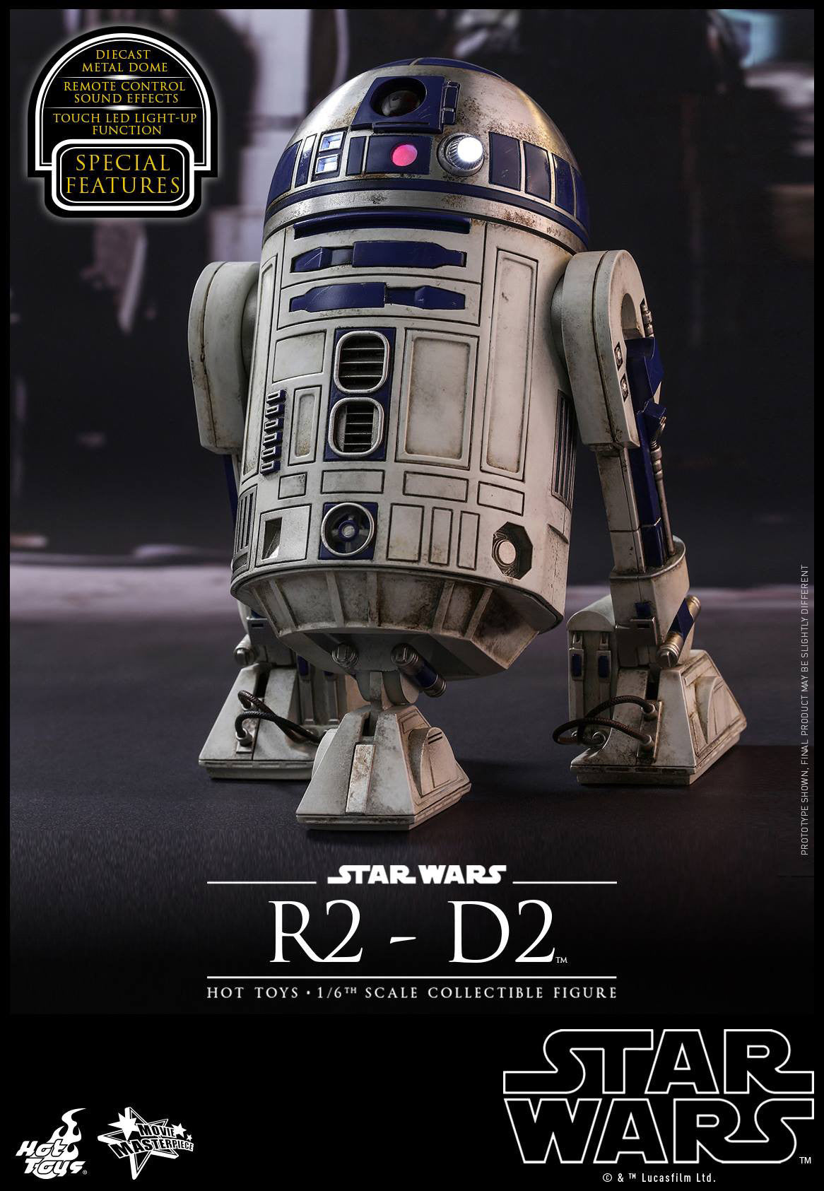 Hot Toys - MMS408 - Star Wars: The Force Awakens - R2-D2 - Marvelous Toys - 1