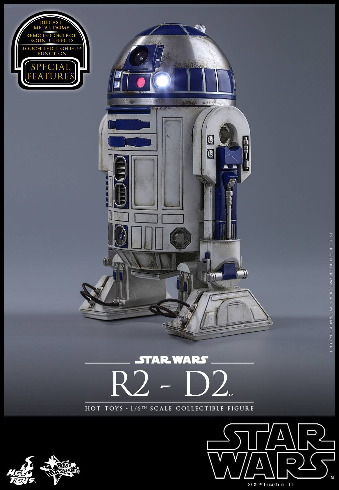 Hot Toys - MMS408 - Star Wars: The Force Awakens - R2-D2 - Marvelous Toys - 3