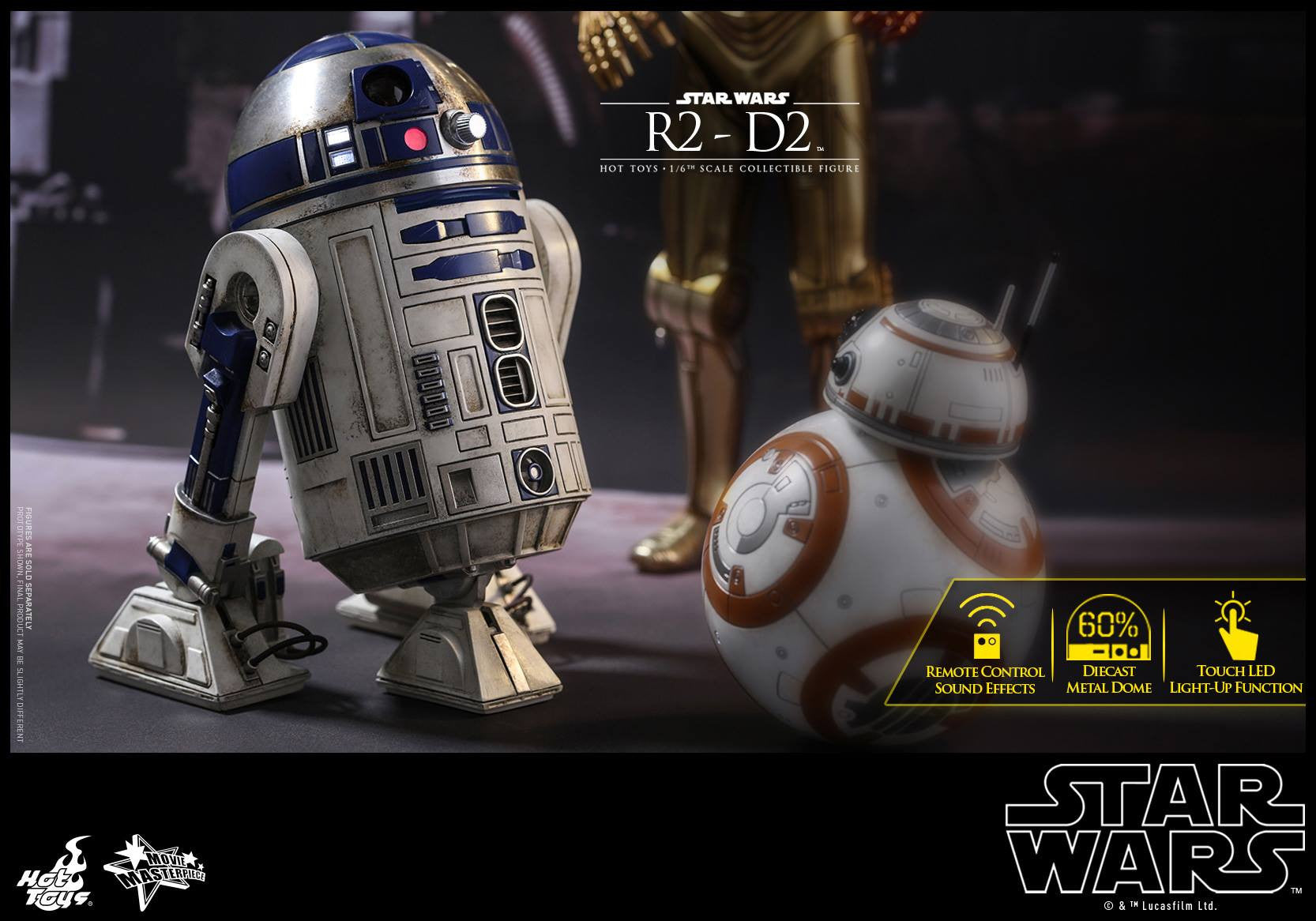 Hot Toys - MMS408 - Star Wars: The Force Awakens - R2-D2 - Marvelous Toys - 4