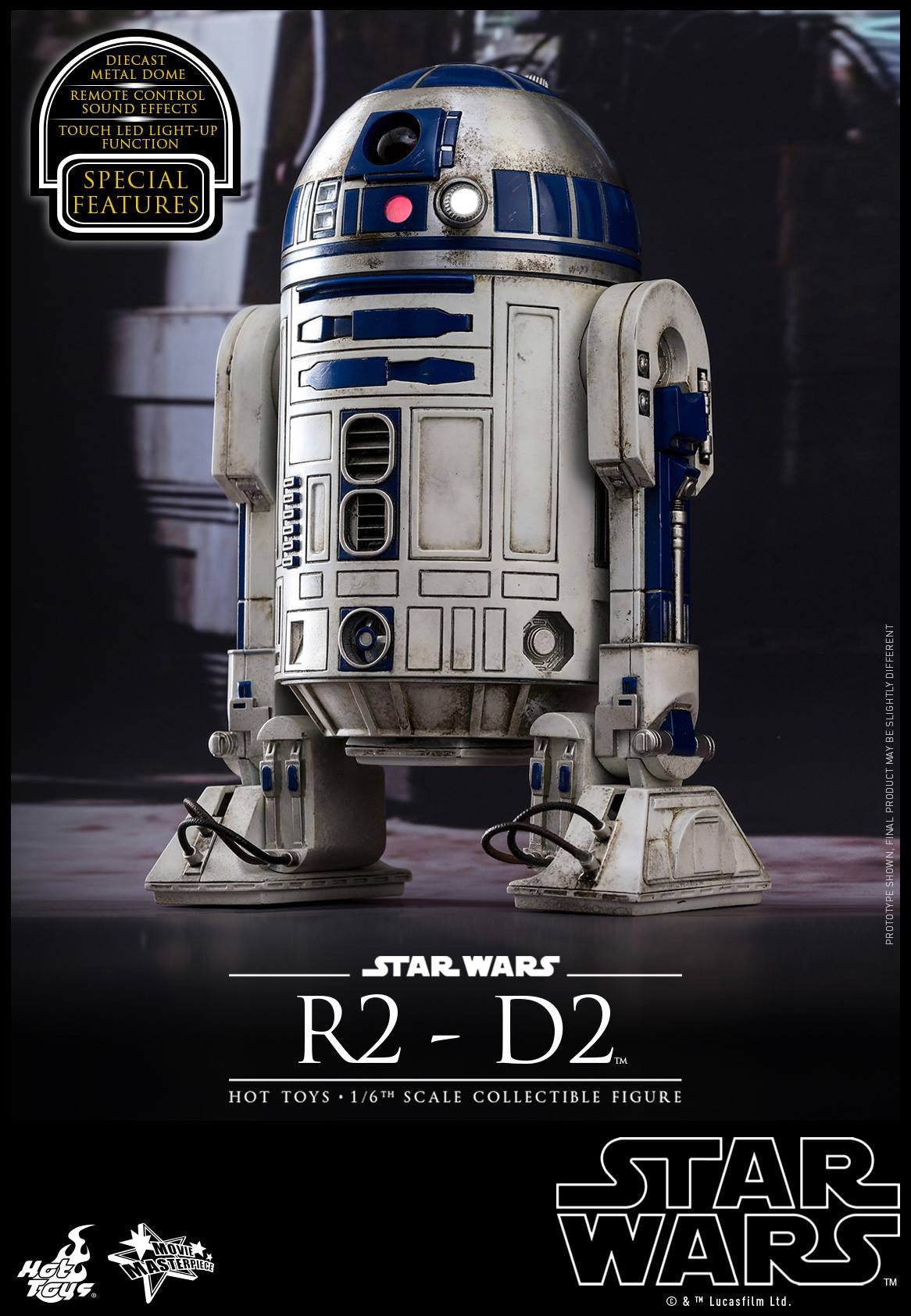 Hot Toys - MMS408 - Star Wars: The Force Awakens - R2-D2 - Marvelous Toys - 5