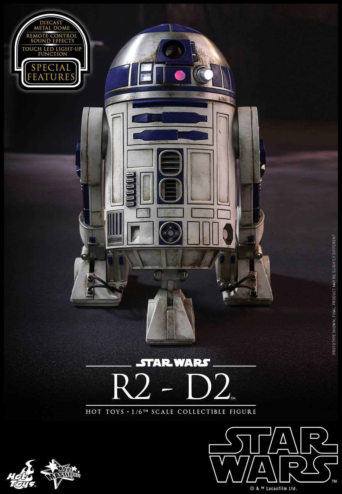Hot Toys - MMS408 - Star Wars: The Force Awakens - R2-D2 - Marvelous Toys - 6