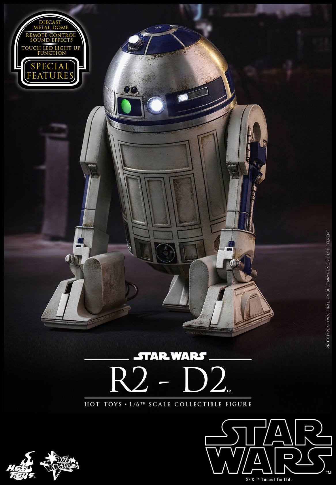 Hot Toys - MMS408 - Star Wars: The Force Awakens - R2-D2 - Marvelous Toys - 7
