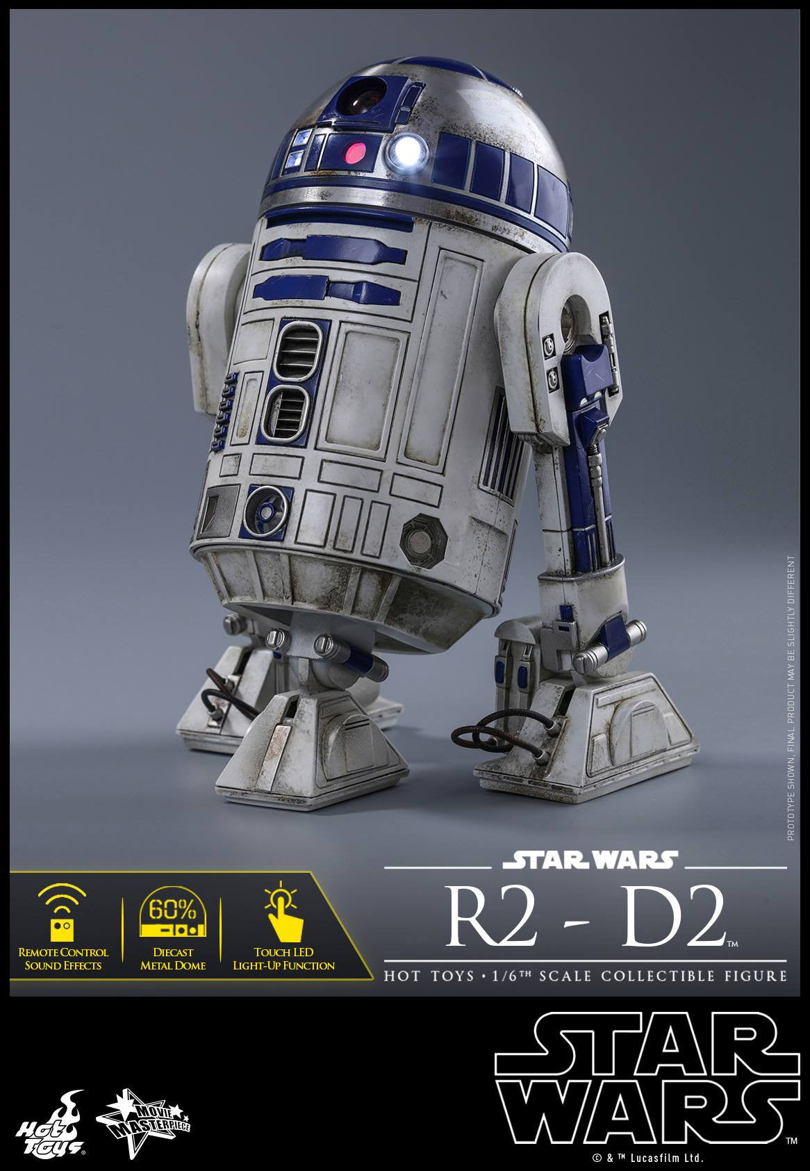 Hot Toys - MMS408 - Star Wars: The Force Awakens - R2-D2 - Marvelous Toys - 8