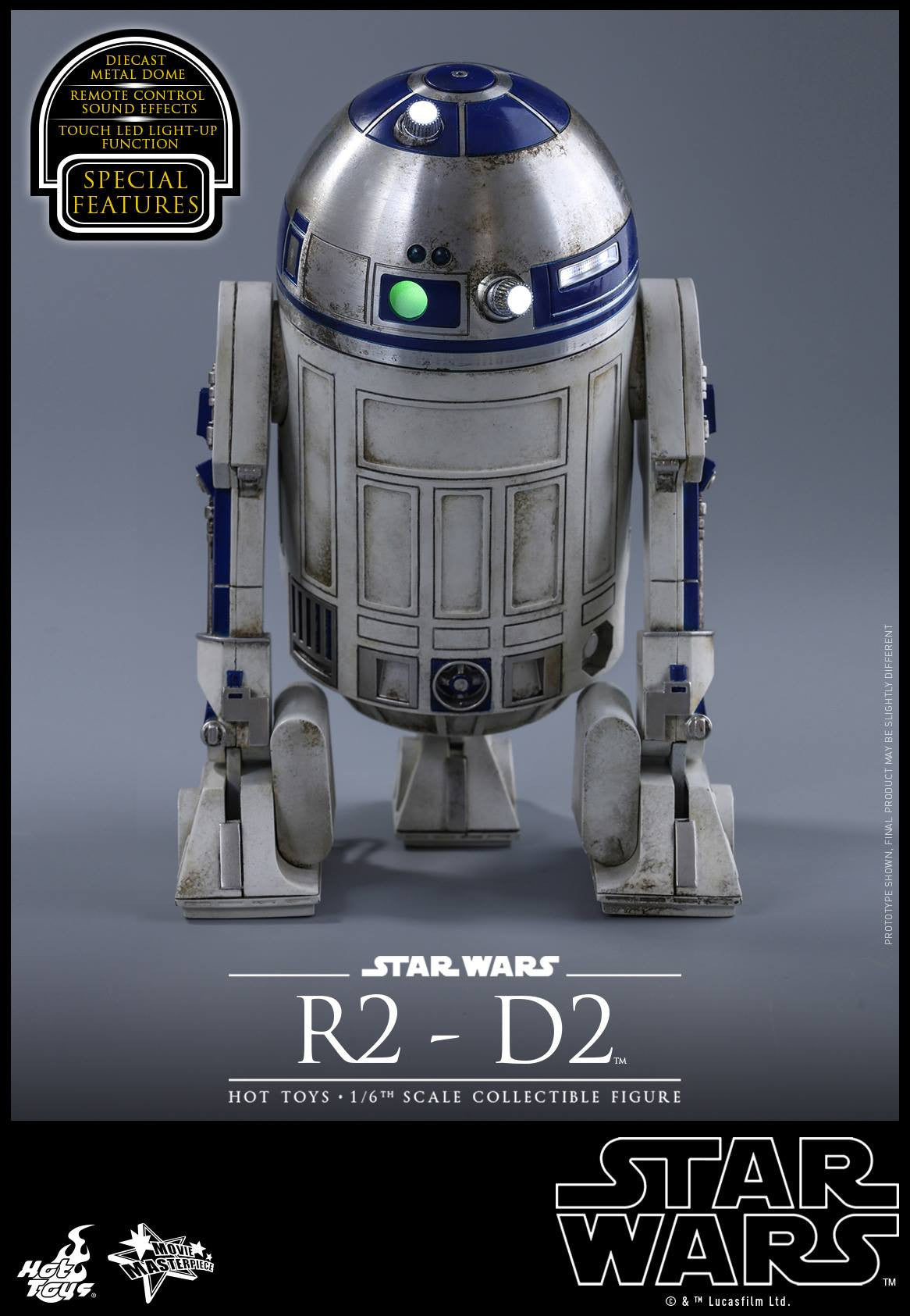 Hot Toys - MMS408 - Star Wars: The Force Awakens - R2-D2 - Marvelous Toys - 9