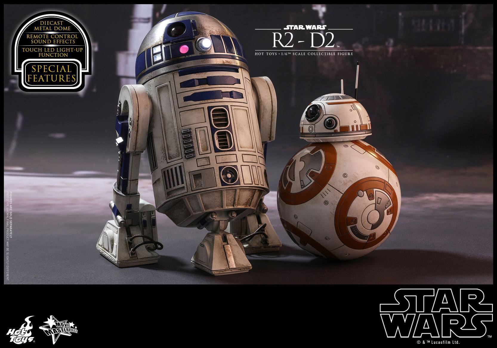Hot Toys - MMS408 - Star Wars: The Force Awakens - R2-D2 - Marvelous Toys - 10