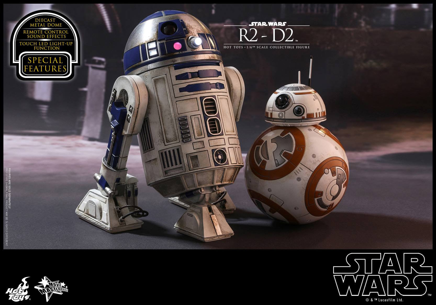 Hot Toys - MMS408 - Star Wars: The Force Awakens - R2-D2 - Marvelous Toys - 11