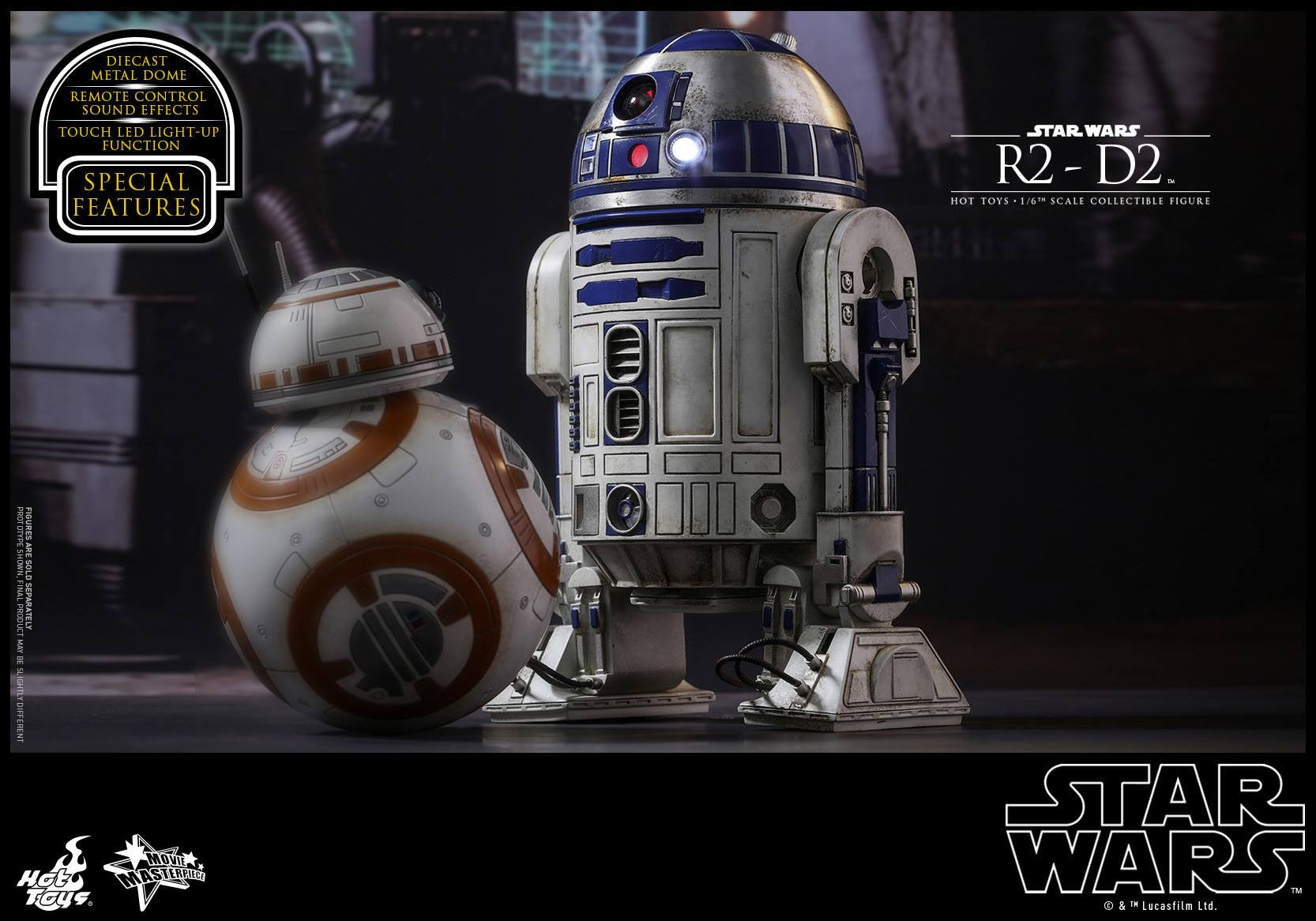 Hot Toys - MMS408 - Star Wars: The Force Awakens - R2-D2 - Marvelous Toys - 12