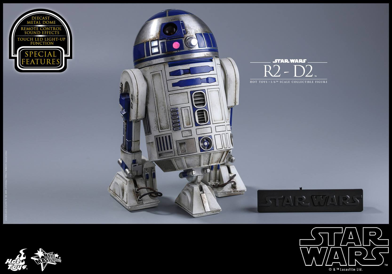 Hot Toys - MMS408 - Star Wars: The Force Awakens - R2-D2 - Marvelous Toys - 13