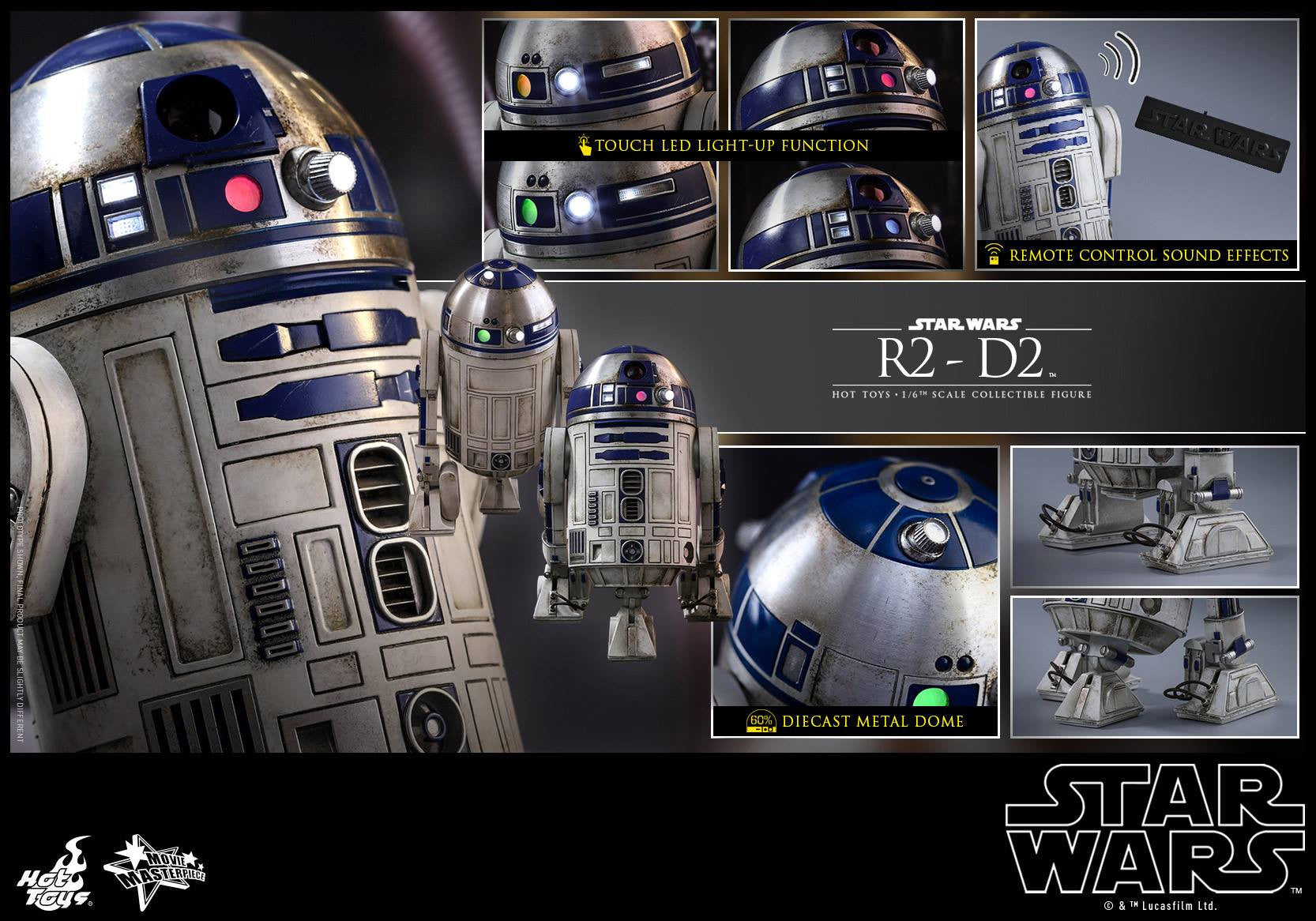 Hot Toys - MMS408 - Star Wars: The Force Awakens - R2-D2 - Marvelous Toys - 14