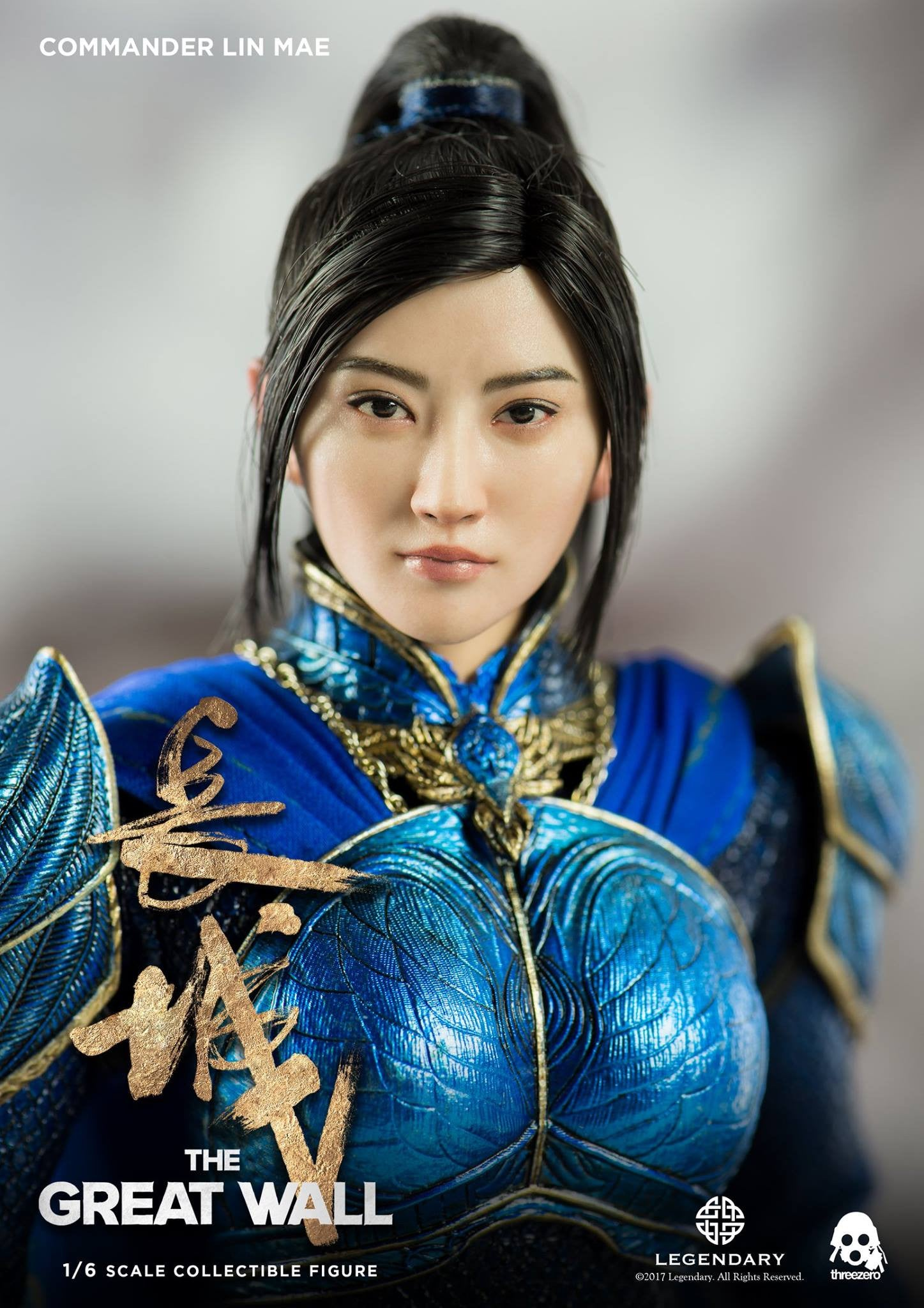 ThreeZero - The Great Wall - Commander Lin Mae 长城 鹤军将领 林梅 景甜 (1/6 Scale)