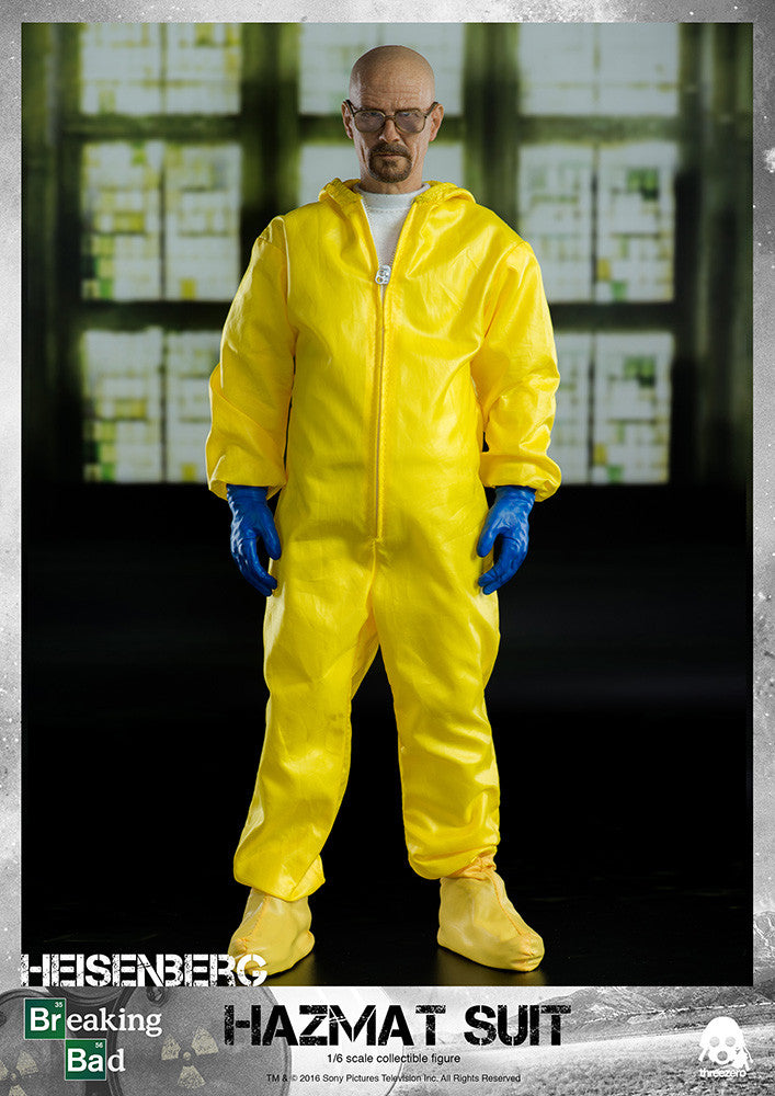 ThreeZero - Breaking Bad - Heisenberg & Jesse Hazmat Suit Combo - Marvelous Toys - 4