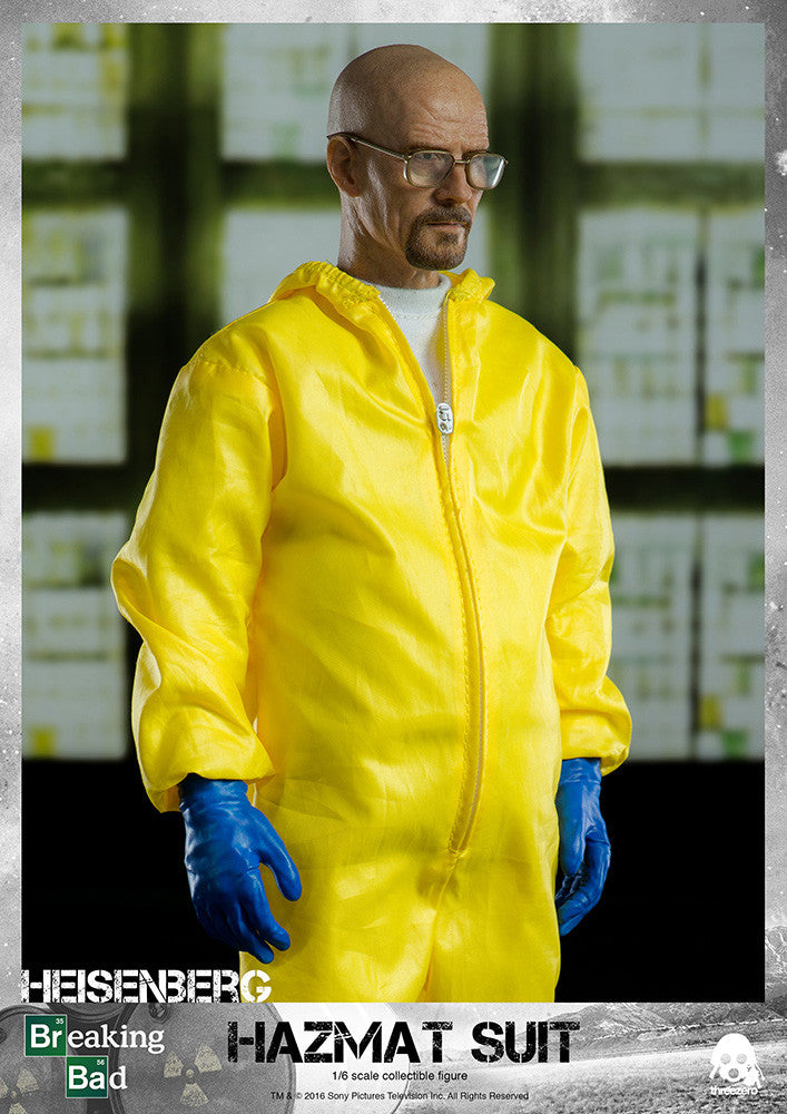 ThreeZero - Breaking Bad - Heisenberg & Jesse Hazmat Suit Combo - Marvelous Toys - 5