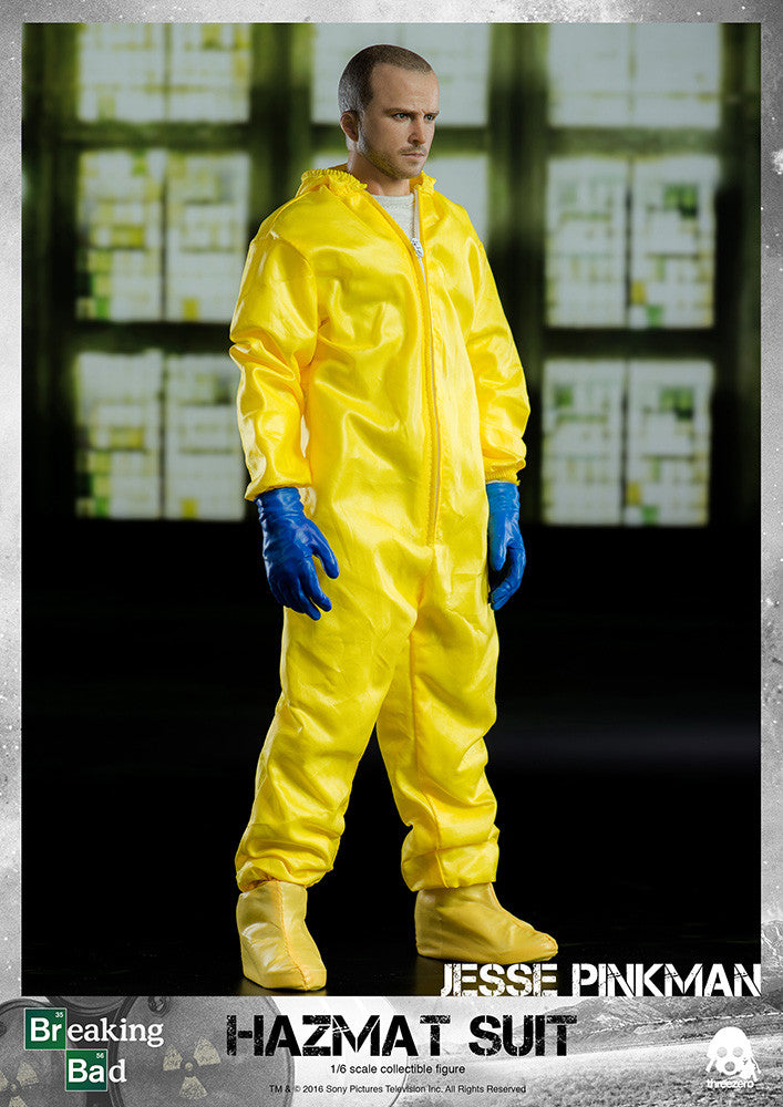 ThreeZero - Breaking Bad - Heisenberg & Jesse Hazmat Suit Combo - Marvelous Toys - 16