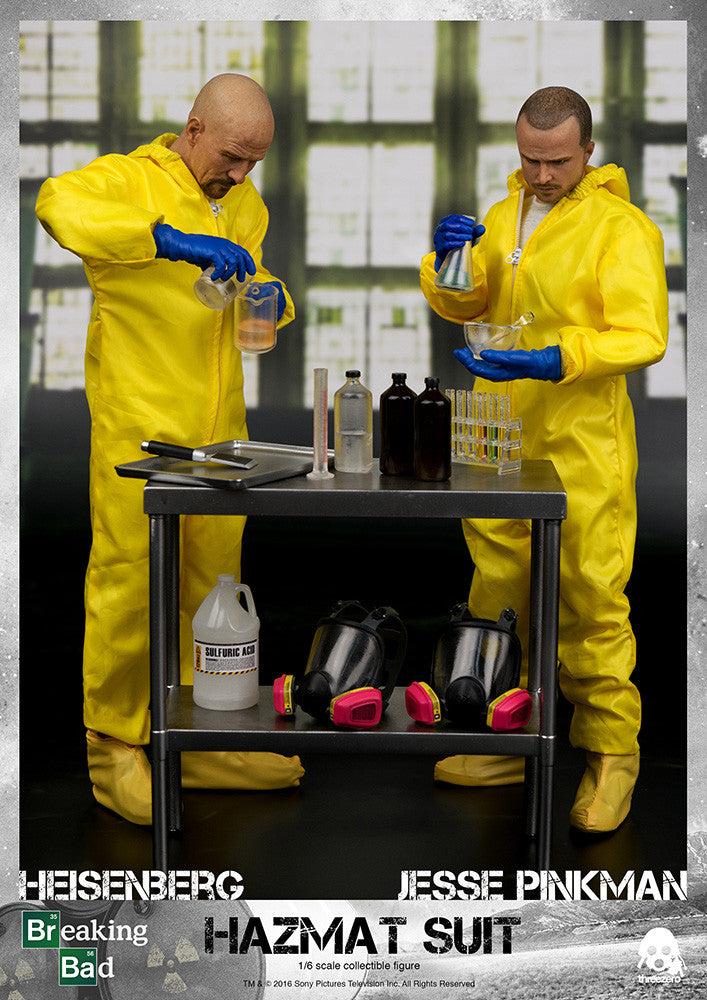 ThreeZero - Breaking Bad - Heisenberg & Jesse Hazmat Suit Combo - Marvelous Toys - 2