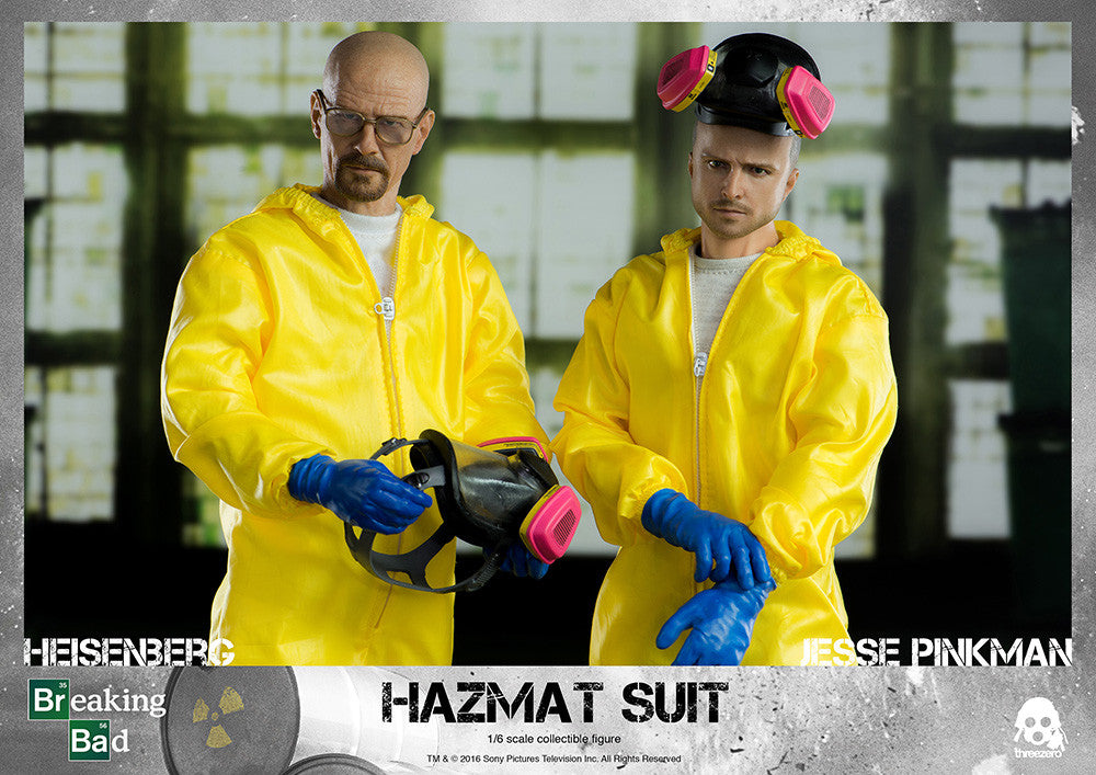 ThreeZero - Breaking Bad - Heisenberg & Jesse Hazmat Suit Combo - Marvelous Toys - 1