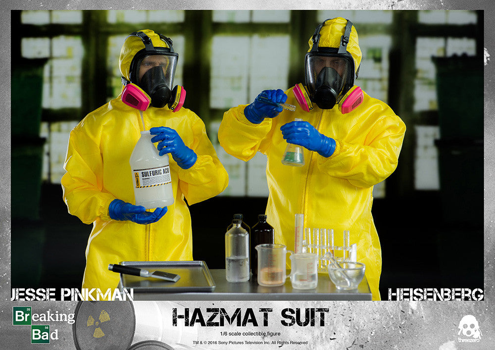 ThreeZero - Breaking Bad - Heisenberg & Jesse Hazmat Suit Combo - Marvelous Toys - 3