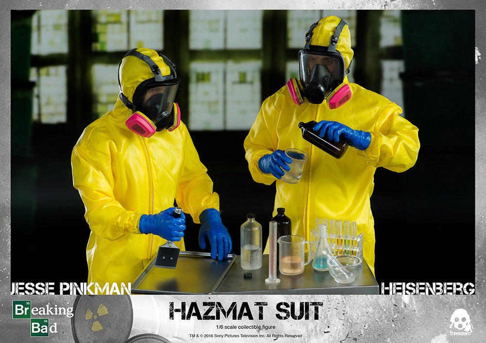 ThreeZero - Breaking Bad - Heisenberg & Jesse Hazmat Suit Combo - Marvelous Toys - 25