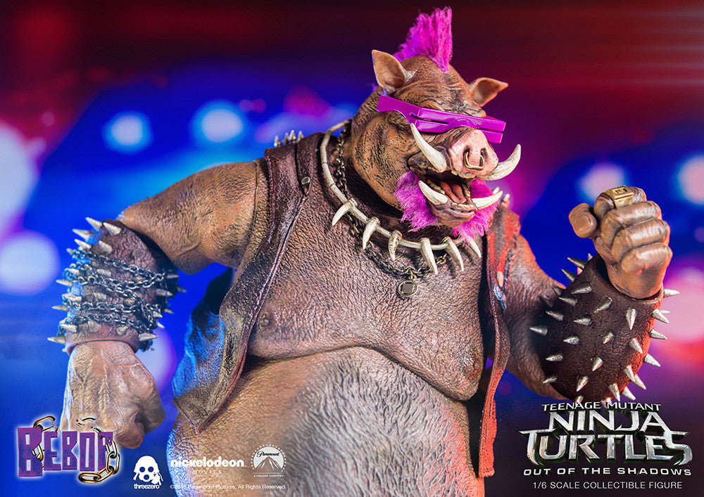 ThreeZero - Teenage Mutant Ninja Turtles: Out of the Shadows - Bebop - Marvelous Toys - 11