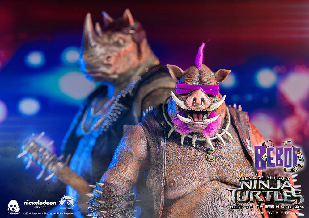 ThreeZero - Teenage Mutant Ninja Turtles: Out of the Shadows - Bebop - Marvelous Toys - 20