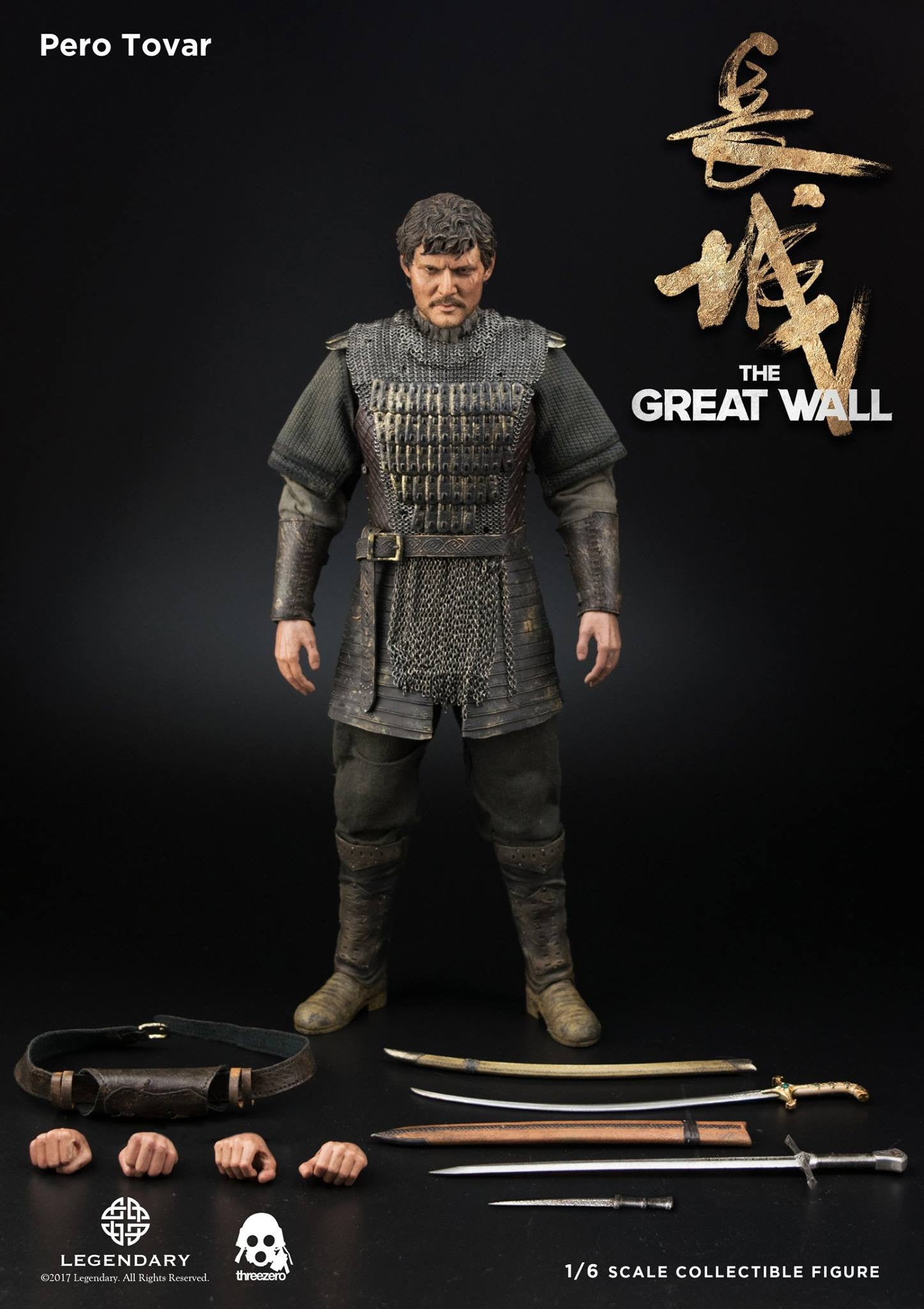 ThreeZero - The Great Wall - Pero Tovar (1/6 Scale)
