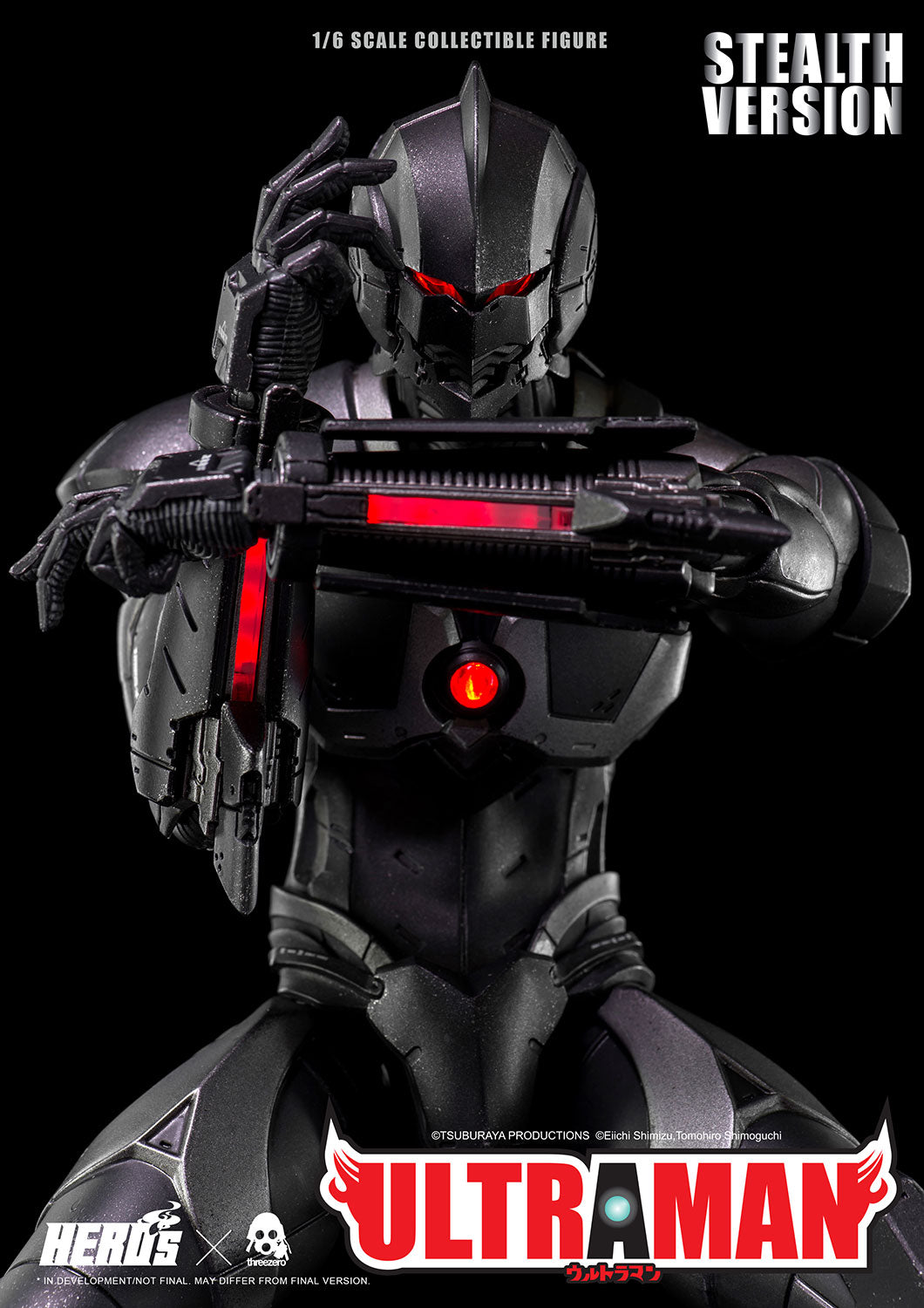 ThreeZero - Ultraman Suit (Stealth Version) (1/6 Scale)